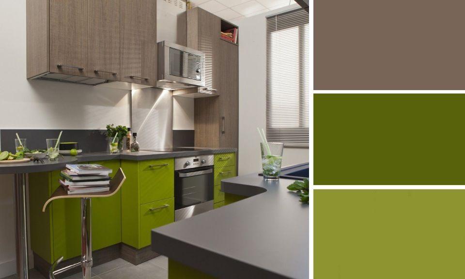 quelles couleurs se marient avec le marron vert anis marrons et vert. Black Bedroom Furniture Sets. Home Design Ideas