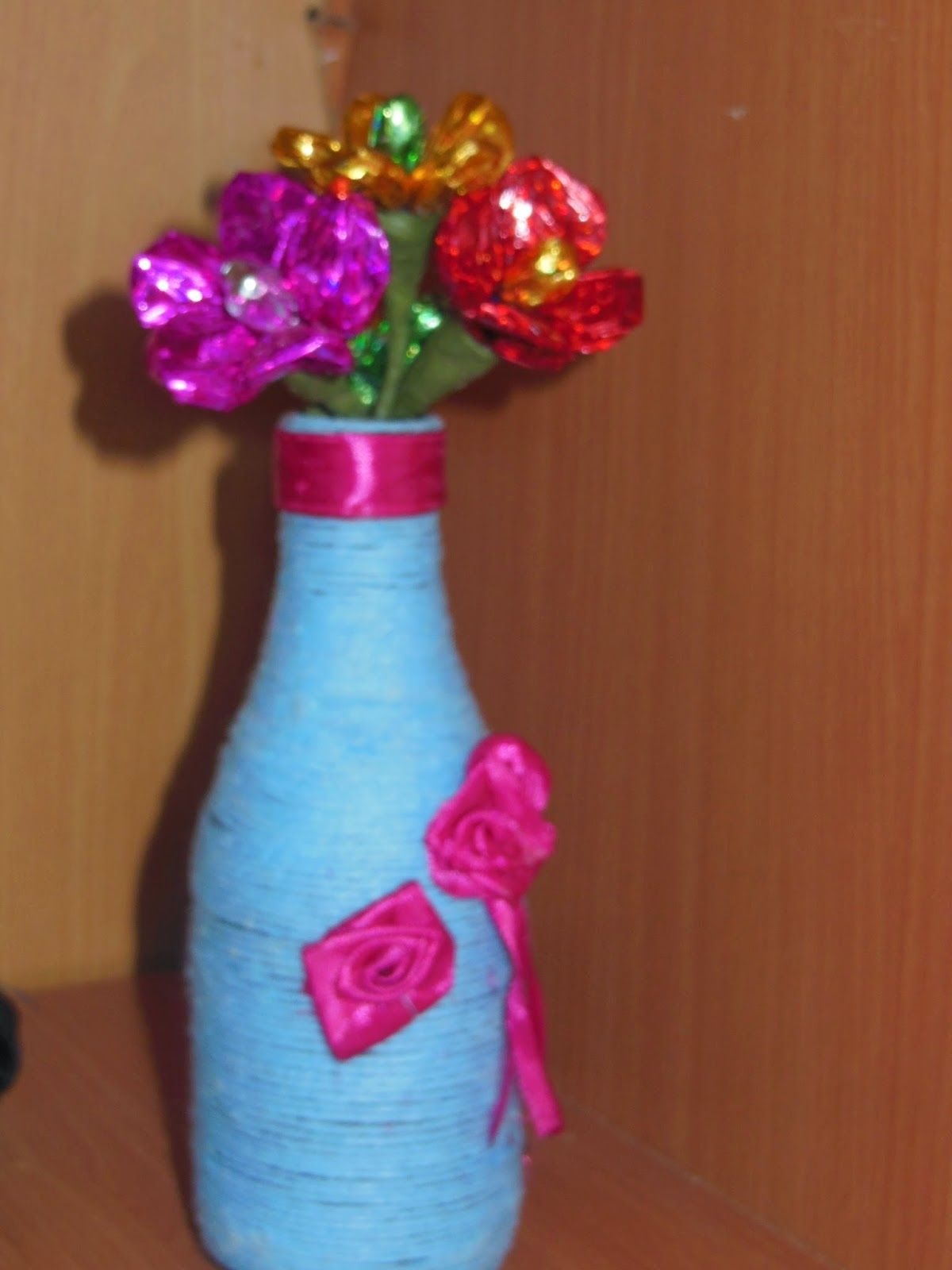 Flower Vase By Waste Material on shelf material, sculpture material, flower material, teapot material, water material, rococo material, quilt material, bird material, blanket material, box material, brick material, carpet material, valentine material, glass material, painting material, tablecloth material, basket material, terracotta material, rope material, heart material,