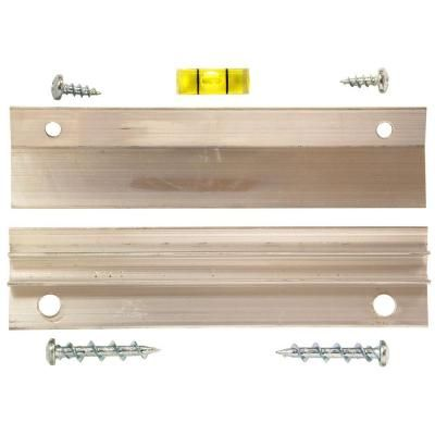 Hangman 60 lb. French Cleat Picture Hanger with Wall Dog Mounting Screws (7-Piece Pack) $7.97