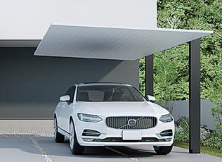 Lixil カースペース カーポート ガレージ 車庫 バイクガレージ 駐車場 等 屋根付き なし カーポートsc カーポート ガレージ カーポートのデザイン