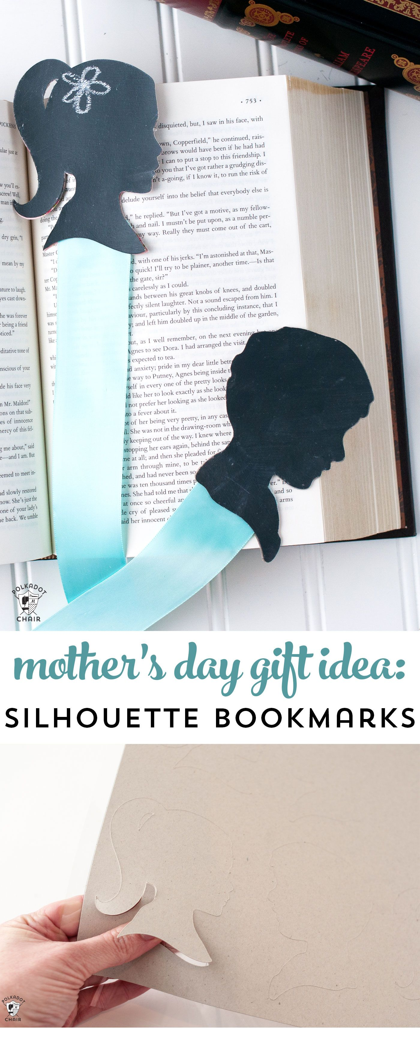 How To Make Silhouette Bookmarks