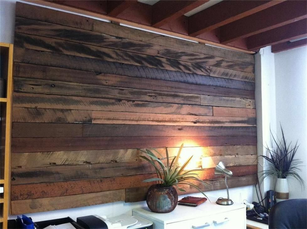 Image Result For Horizontal Recycled Hardwood Paling Fence Screen Timber Feature Wall Wood Feature Wall Tile Cladding