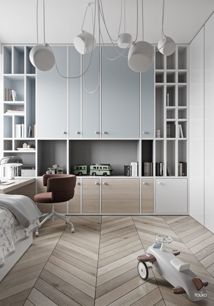 Cool Kids Room by TOL'KO Interiors images