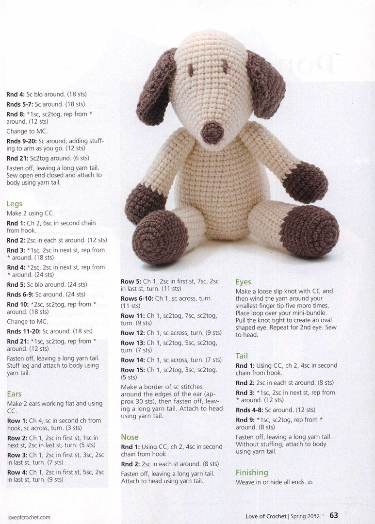 Heidi amigurumi crochet pattern ItaEng schema amigurumi | Etsy | 1080x773