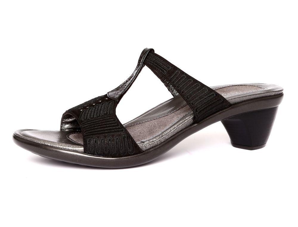 f43c25b9c Naot Footwear Delia Women s Black Velvet Leather Size (US 10) (EU 41) 1210   Naot  SandalsHeels