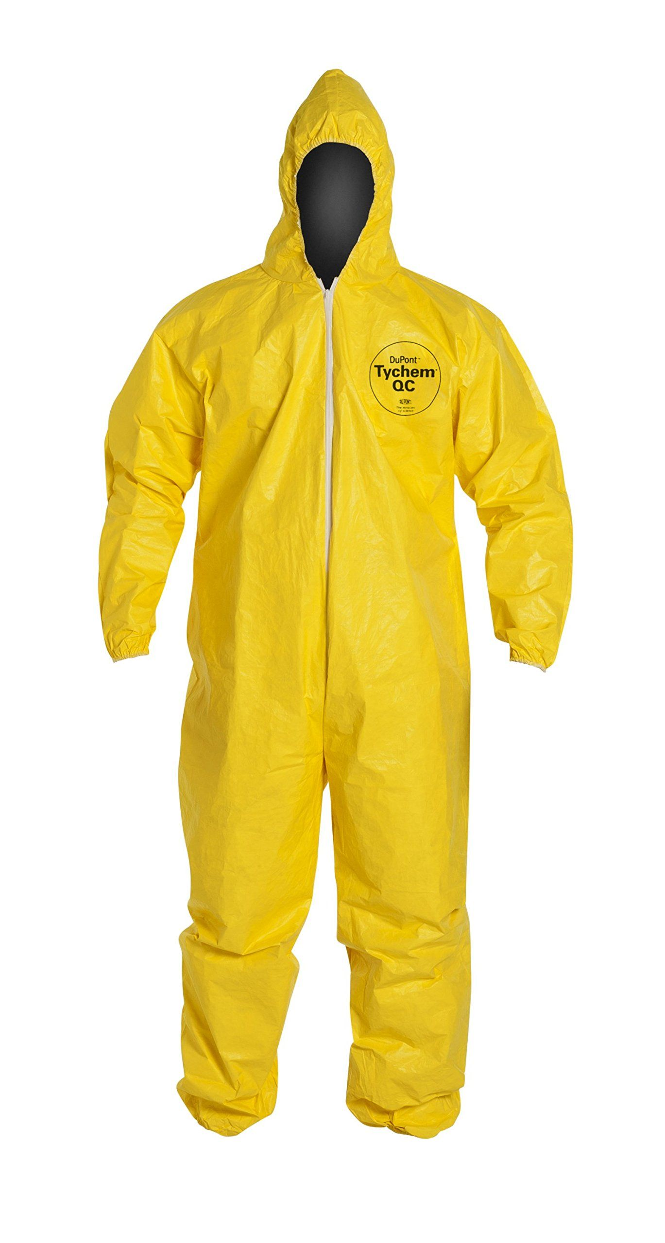 Dupont qc127s tychem coverall with hood