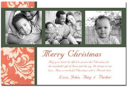Christian christmas photo strip card christmas pinterest christian christmas photo cards christian photo strip card by photo card cafe m4hsunfo