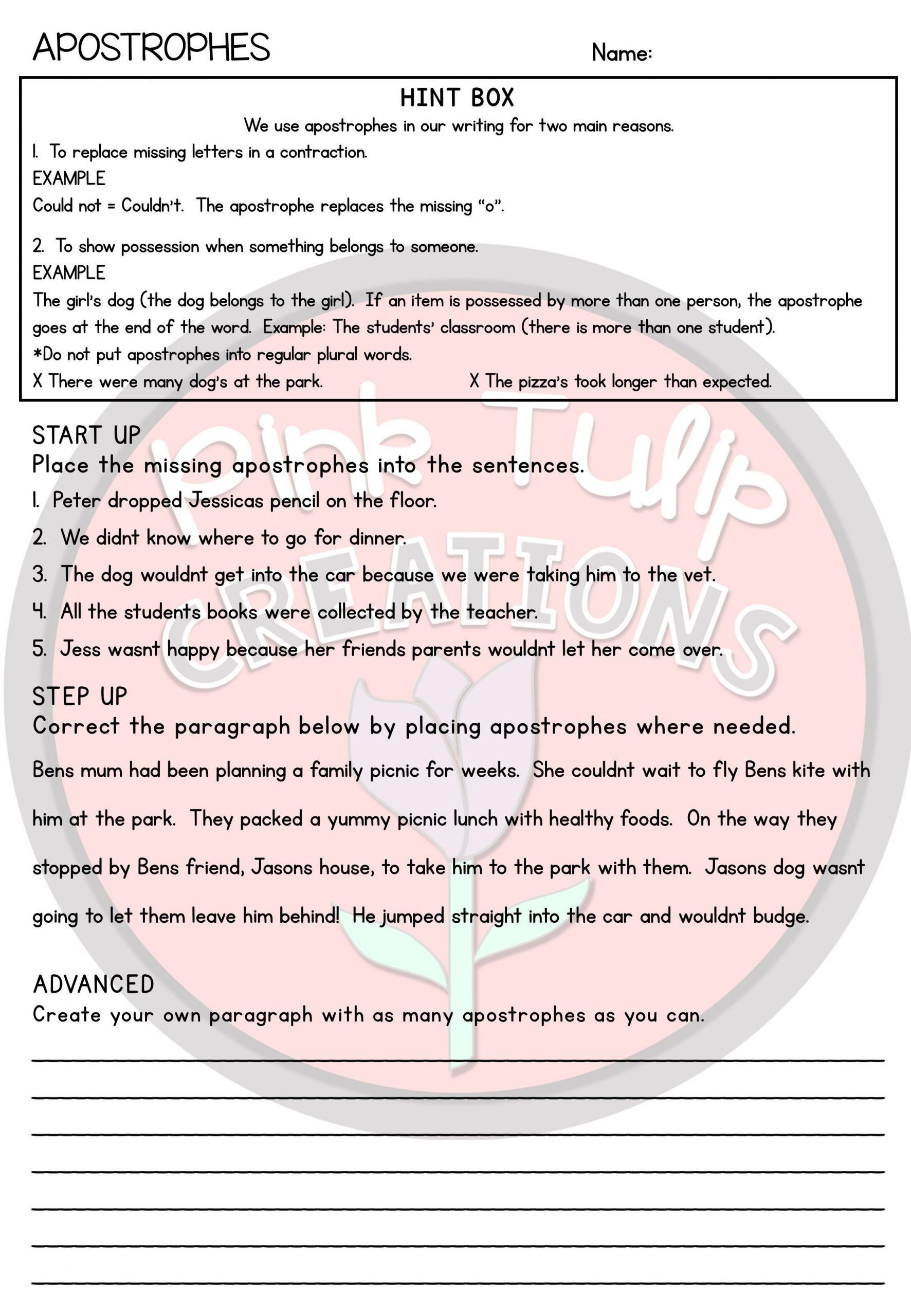 hight resolution of Drawing Conclusions Worksheets 5th Grade Grammar Worksheet Pack in 2020    Grammar worksheets