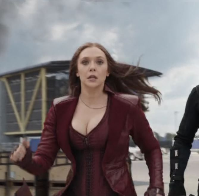 Elizabeth Olsen Scarlet Witch Captain America Civil War My Tribute To The Gravity Defying Elizabeth Olsen Scarlet Witch Elizabeth Olsen Olsen Scarlet Witch