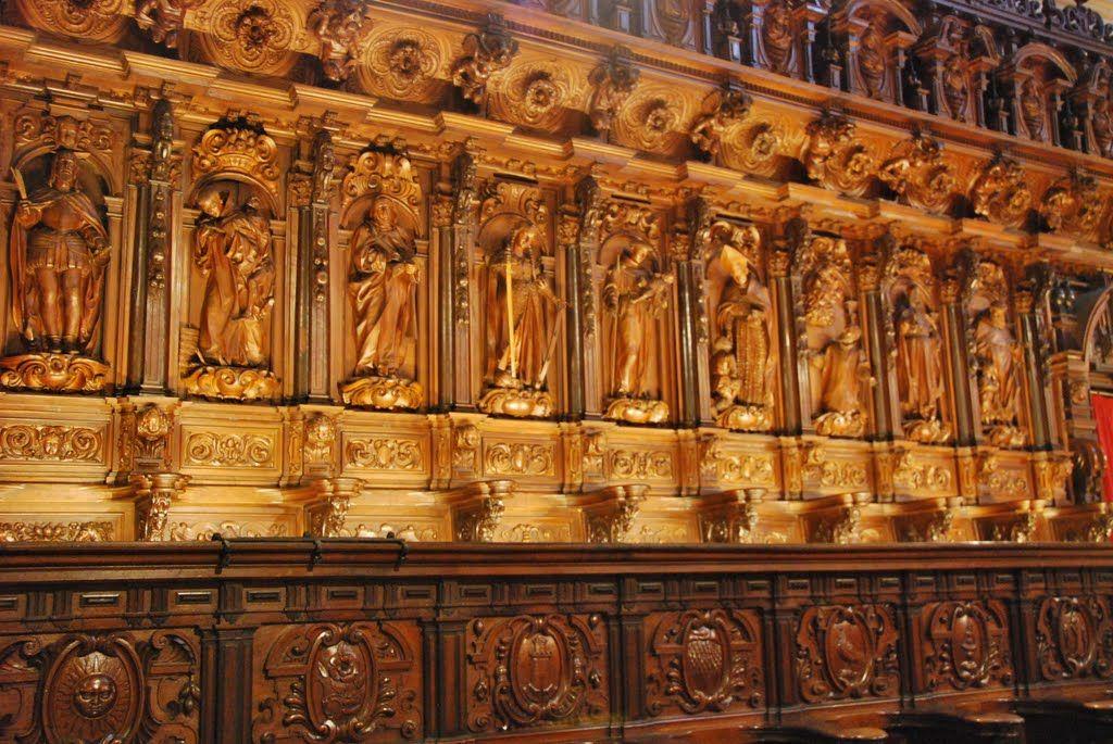 Catedral De Zaragoza Sillería Del Coro Panoramio Photo Of Detalle De La Silleria Del Coro De La Renacimiento Español Catedral Monumentos