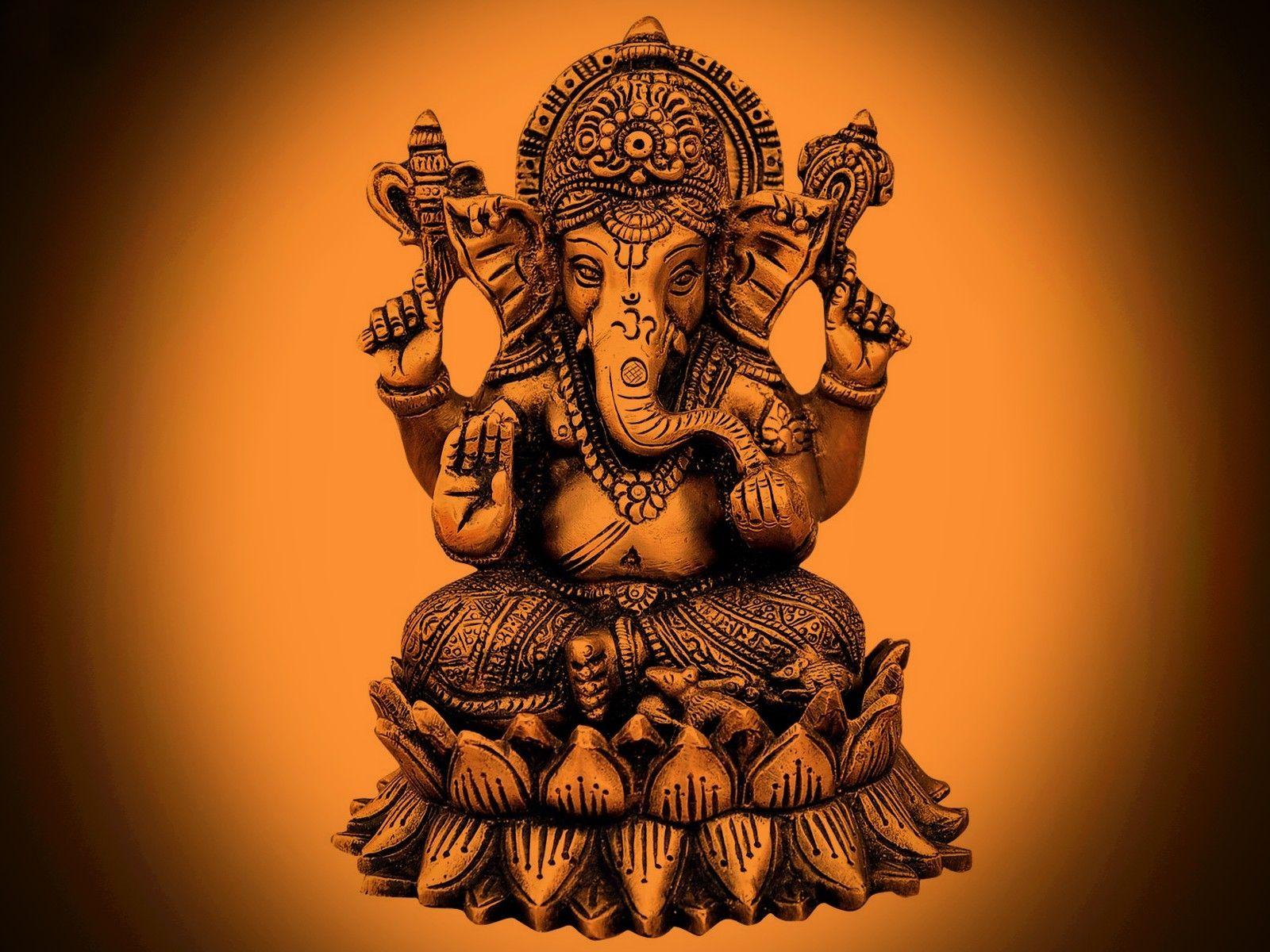 Hd wallpaper ganpati - Ganesha Painting Pillayar Wallpaper Free Download