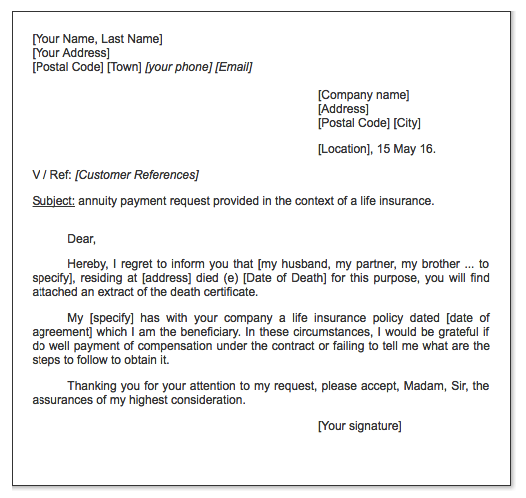 payment request insurance letter httpexampleresumecvorgpayment request