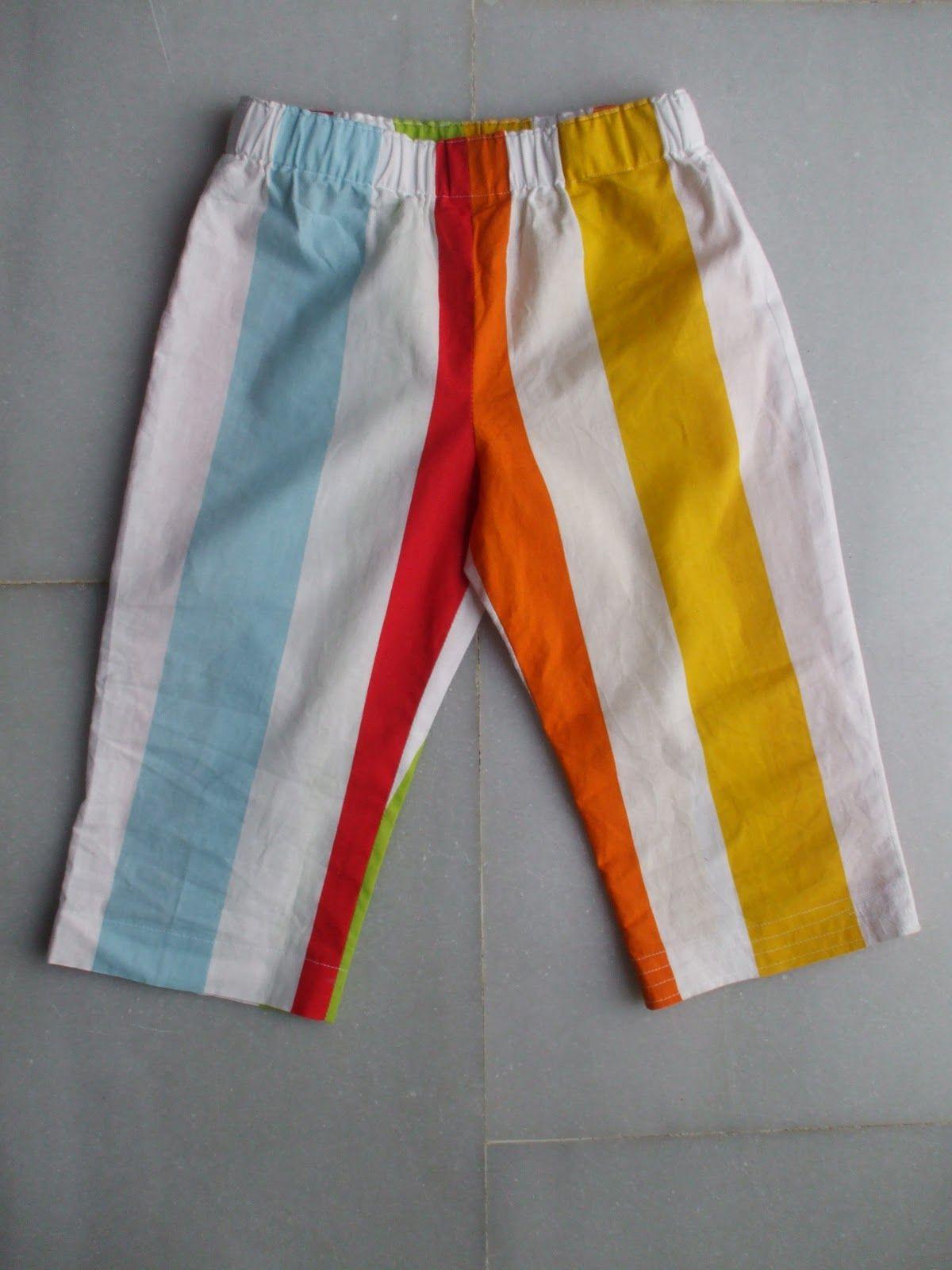 Si hay un patrón básico para cualquier madre costurera es este .    Sirve para pijamas, bermudas, shorts, pantalones para salir y es uni...