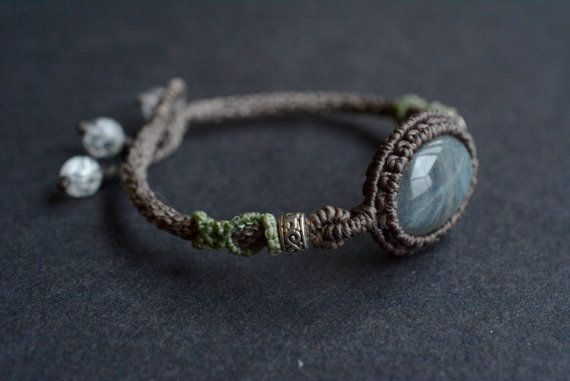 FREE SHIPPING macrame jewelry macrame by EarthCraftHandmade