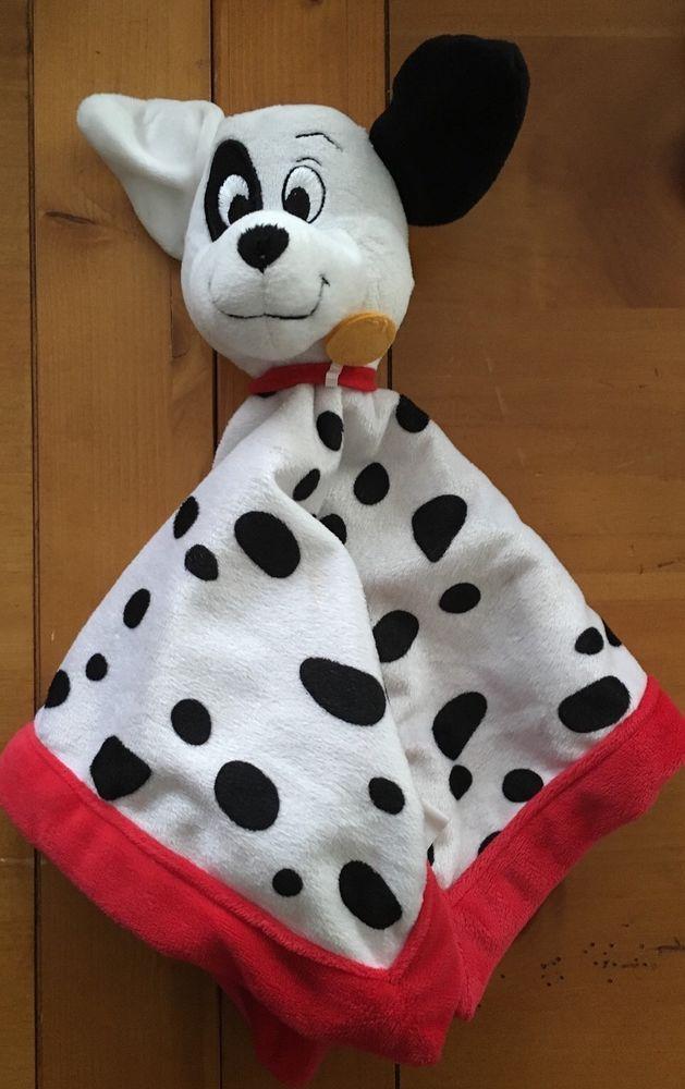 Baby Blanket 101 Dalmatians Dalmatian Plush Lovey Security Blanket Spots Disney Security Blanket Baby Blanket Lovey