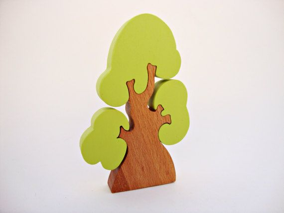 Wooden Toys Tree Wooden Puzzles Kids Toy Eco-friendly Toy Gift Birthday Gift