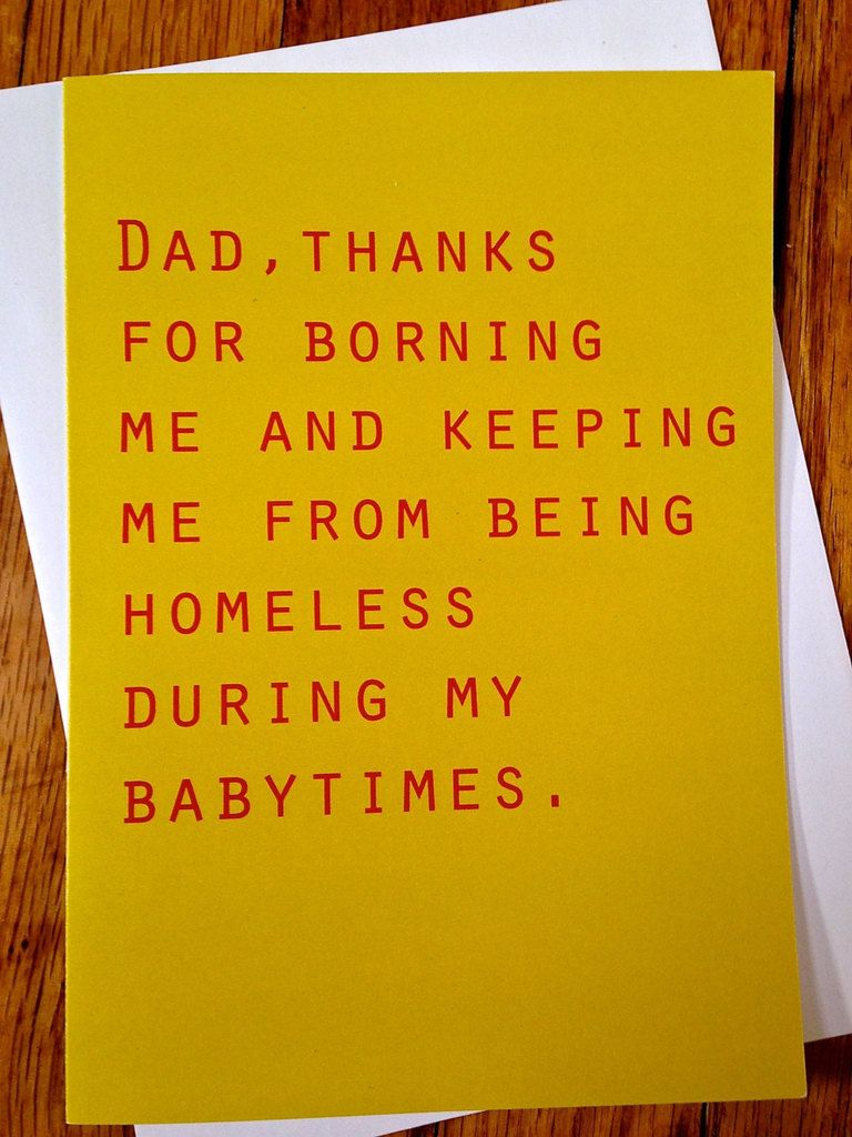 25 Hilarious Father S Day Cards Without A Single Reference To