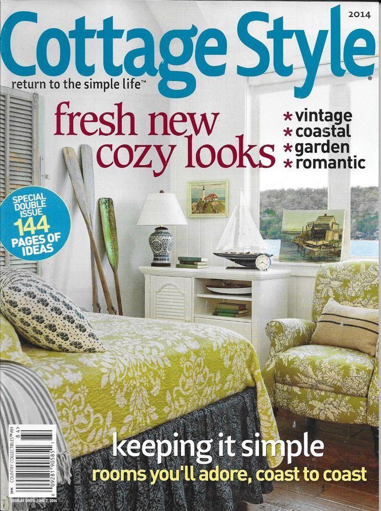 Surprising Cottage Style Magazine Vintage Coastal Garden Romantic Download Free Architecture Designs Scobabritishbridgeorg