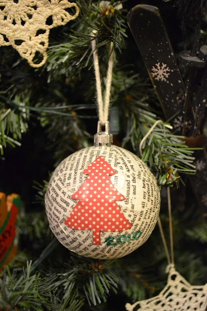 Loving City Living: DIY Paper Mache Christmas Ornaments | My Style ...