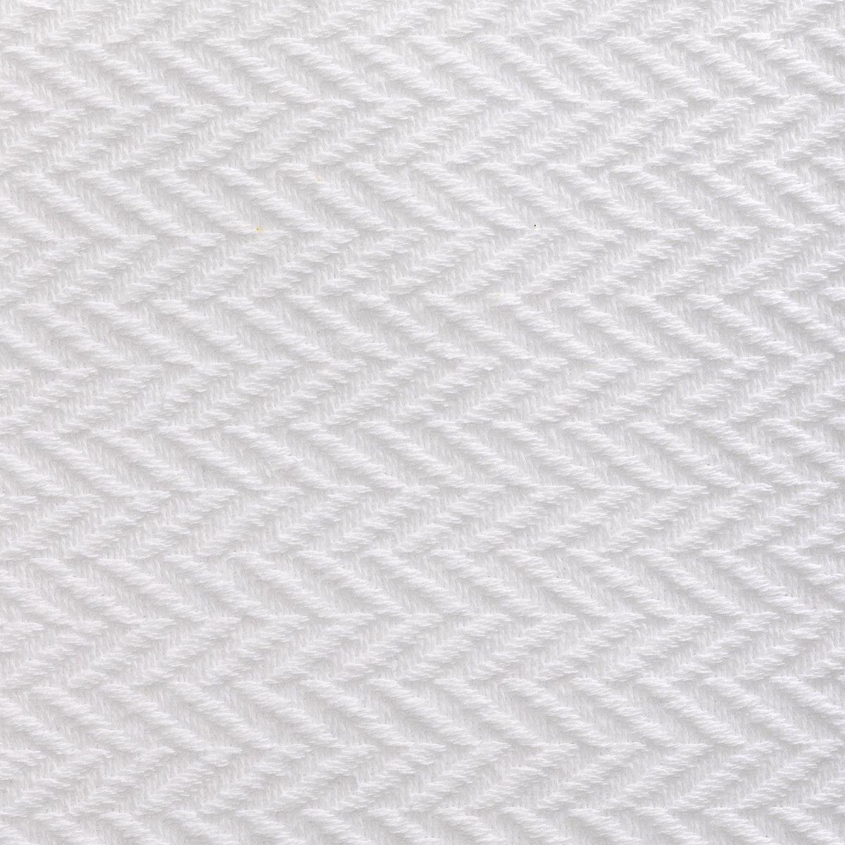 ANICHINI Fabrics | Chevron White Residential Fabric - a white ...