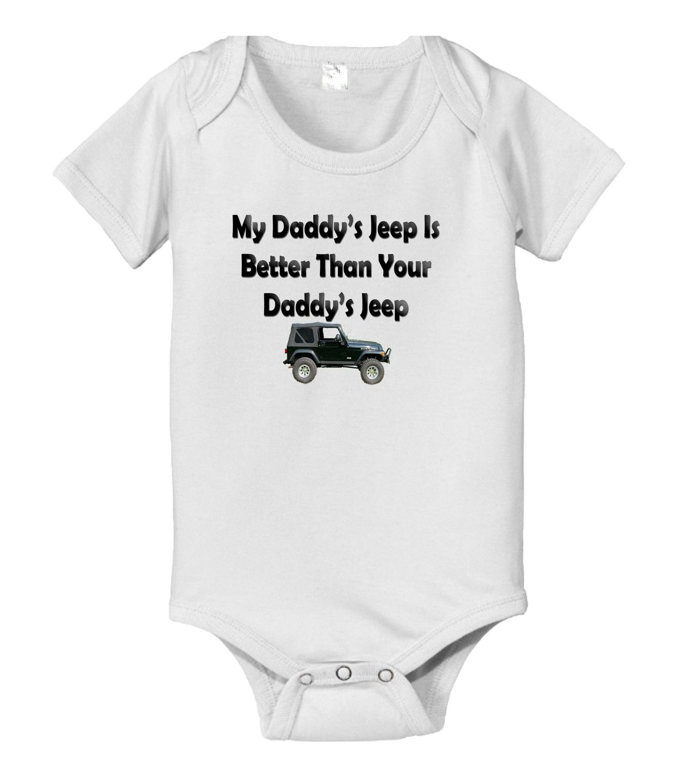 My Daddys Truck Is Better Than Your Daddys Truck Bodysuit