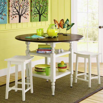 McBride Convertible Table - Antique White