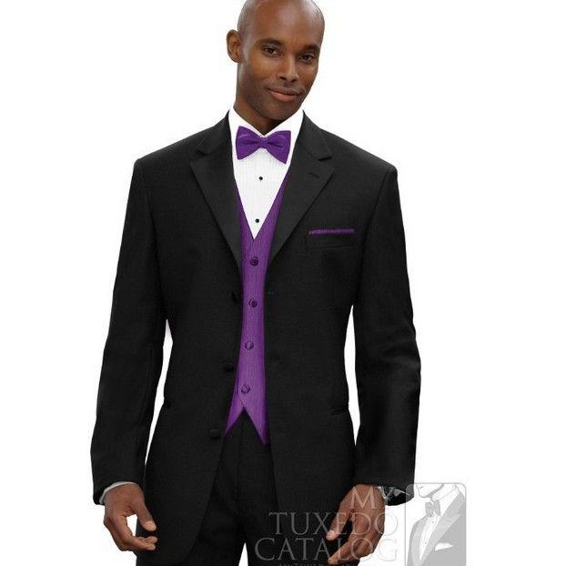 2015 New Style Mens Black Suits Jacket Pants Formal Dress Men Suit ...