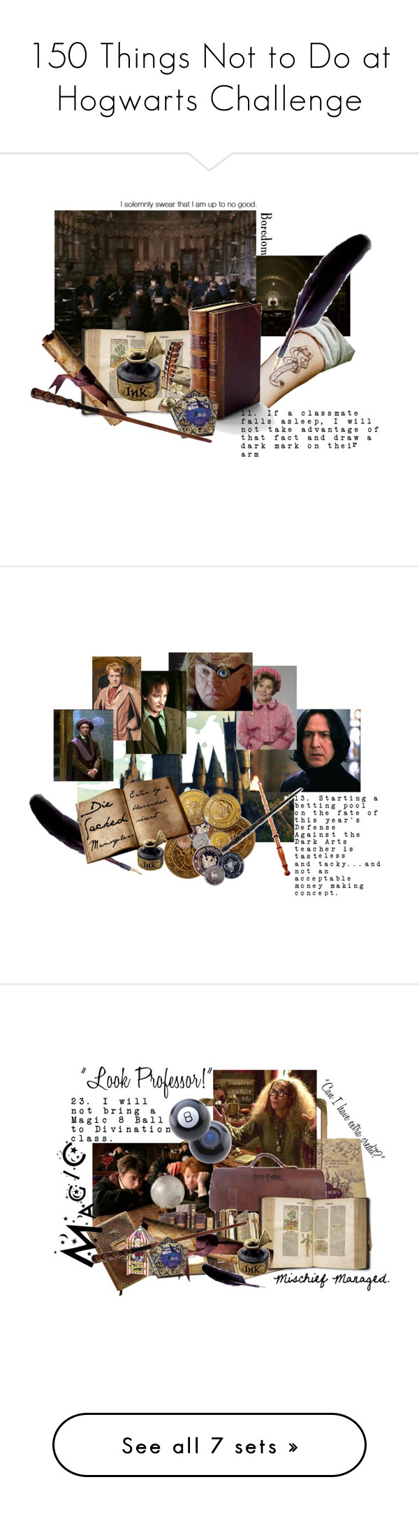 """150 Things Not to Do at Hogwarts Challenge"" by siriuslyoddsome ❤ liked on Polyvore featuring art, D&G, Yves Saint Laurent and Kenneth Jay Lane"