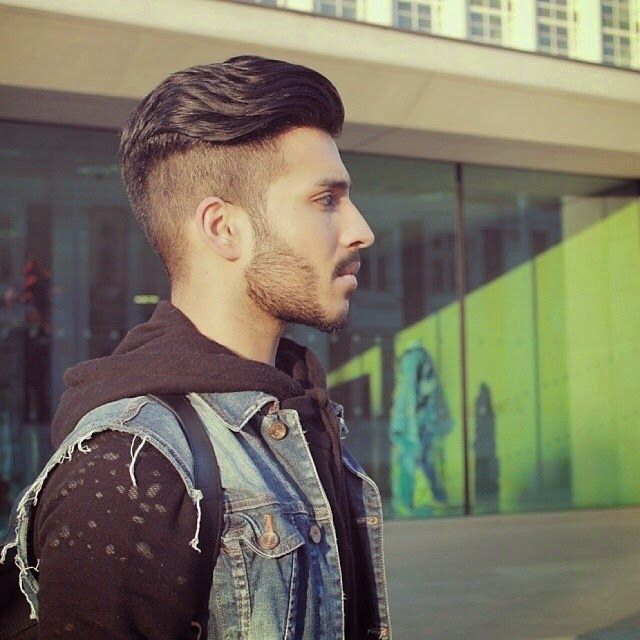 2015 Mens Fade Haircuts Slick Back Hair Fade Mens Haircuts