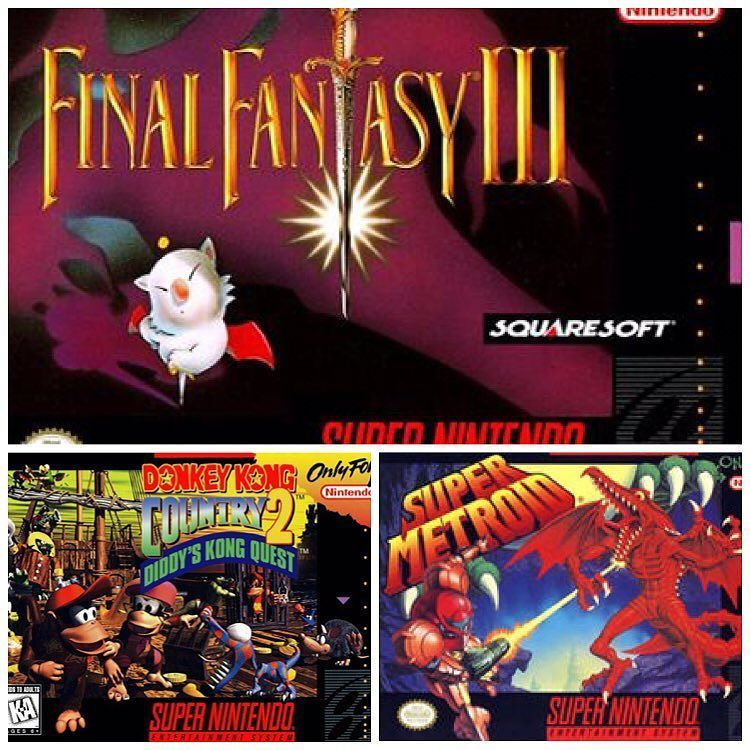 Interesting one by dj_thepp #supernintendo #microhobbit (o) http://ift.tt/1SgbTMM was tagged by @ahideokojimajake (please check out his page) to post my top 3 #SuperNintendo games :  1. Final Fantasy III : This was my first FF game and first JRPG.  A memorable game and it's number 2 on my top FF games.  2. Super Metroid : Super Metroid on the SNES is an amazing game and has an equally amazing soundtrack. Can't wait to purchase this again and play on the New 3DS.  3. Donkey Kong Country 2…