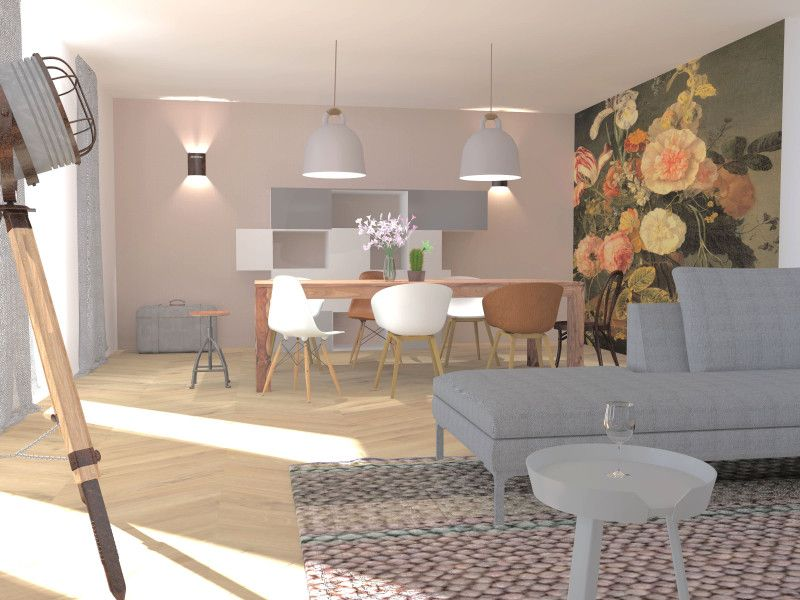 3d Woonkamer Ontwerpen : Interieurontwerp en styling breda 3d danielle verhelst interieur