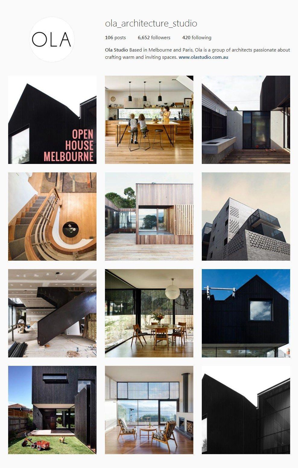 The Best Architectural Instagram Feeds 2017 Interiores