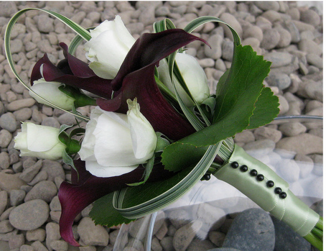 Small Picture Frames For Wedding Bouquet Small Calla Bouquet For