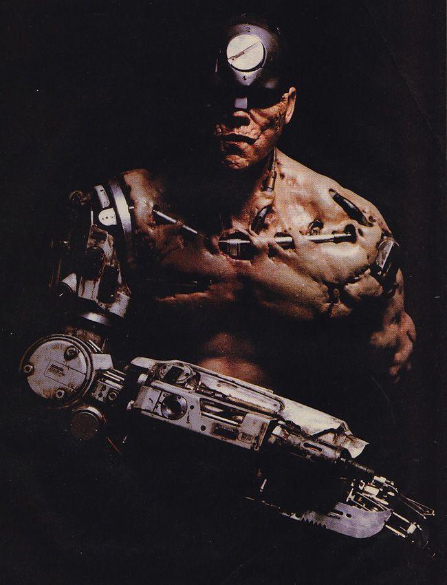 Chris Cunningham S Mean Machine From Stallone S Dredd