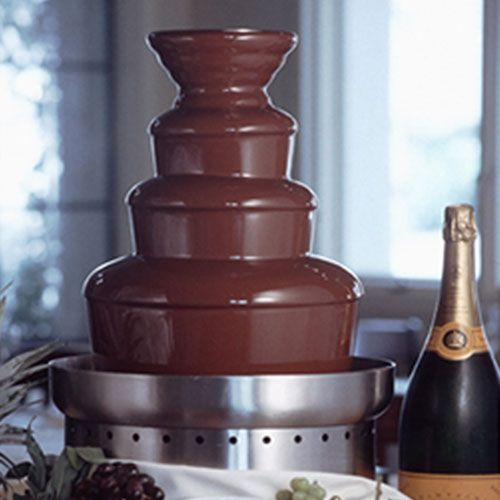 Chocolate Fountain - Food and Drinks - Fun Stuff - Bobby K Entertainment #chocolatefountainfoods