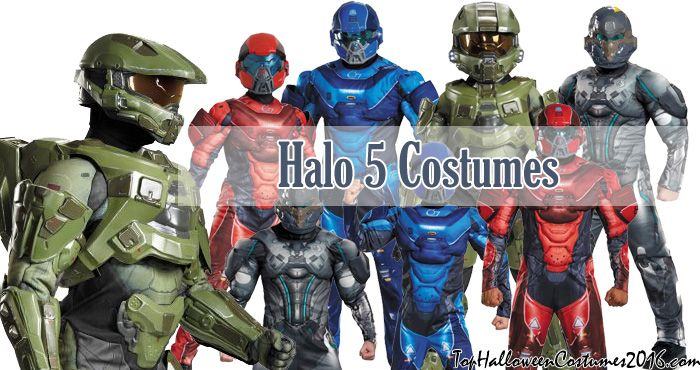 halo 5 costumes master chief spartan locke red blue