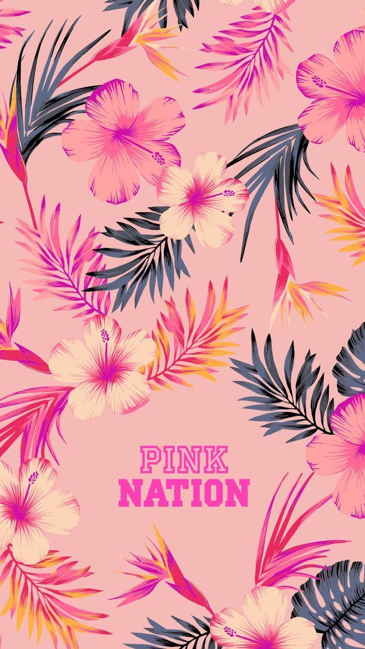 pink nation wallpaper  Pink Nation Wallpaper @lexxyjean | Pattern surface design ...