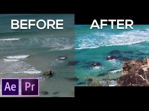 Color Grading Made Easy After Effects Tutorial No Plugins