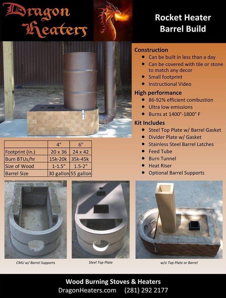 Wood Stove Decathlon Estufas Cohetes Hornos Proyectos Ecologicos