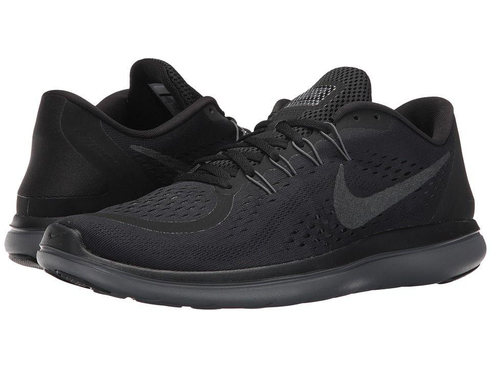 00f06c8000dd Nike Flex RN 2017 (Black Metallic Hematite Anthracite Dark Grey) Men s  Running Shoes