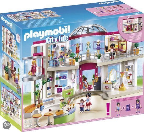 Playmobil Compleet ingericht winkelcentrum - 5485 | playmobil ...