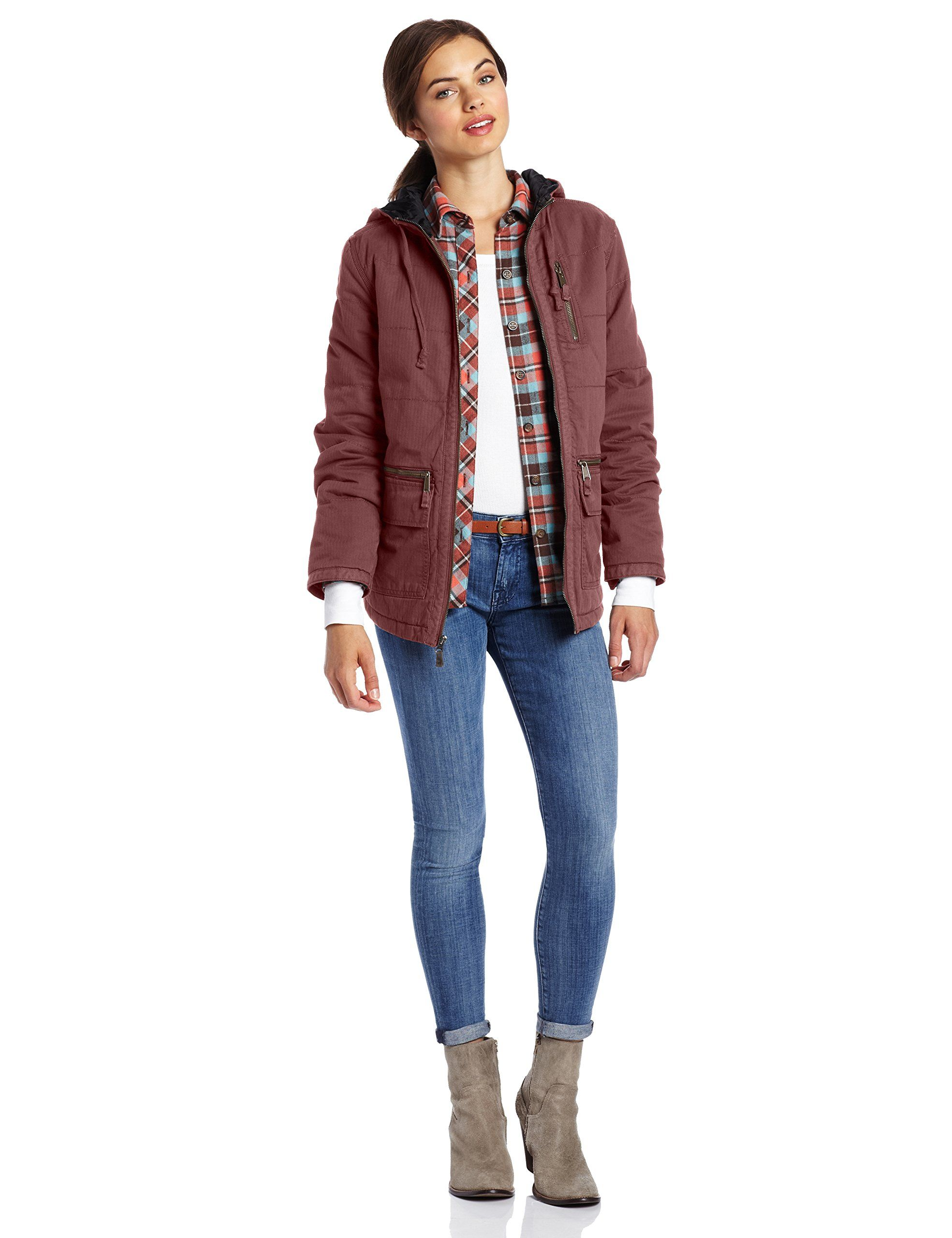 Carhartt Women S Gallatin Jacket At Amazon Women S Coats Shop Carhartt Women Jackets Coats For Women [ 2560 x 1969 Pixel ]