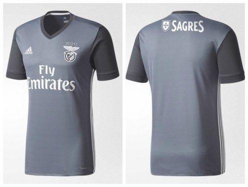 SL Benfica 2017 18 adidas Away Kit  9e24818a91229