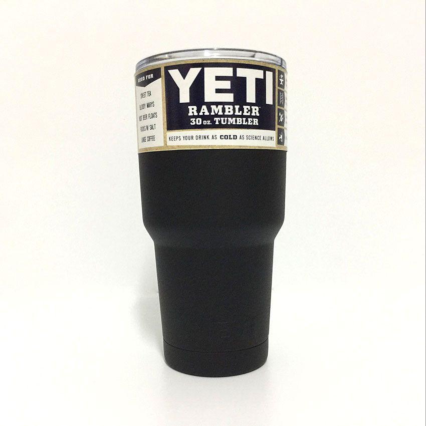 YETI Tumbler Rambler Cups 30 OZ Double Stainless Steel Tumbler Tea Cups And Mugs Yeti Cup Cooler 20 OZ Pink Travel Mug Coffee