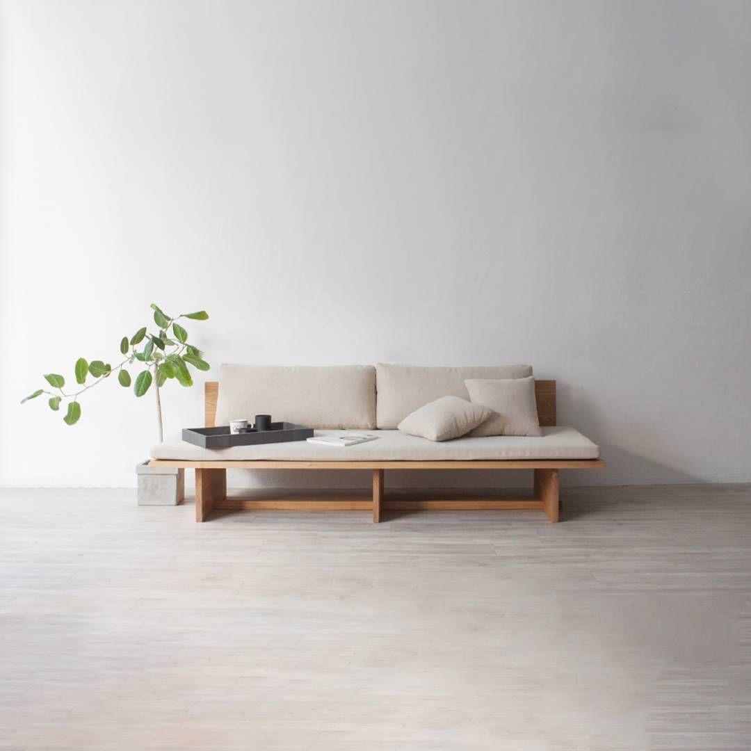 Blank Sofa By Hyung Suk Cho Www Leibal Minimalism Minimal Minimalist Interior Korea