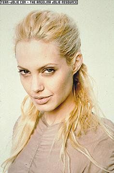 Angelina Jolie As A Blonde