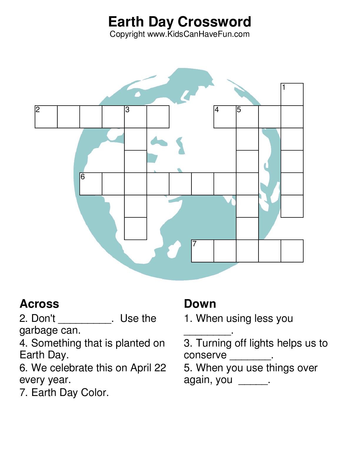 Crossword Puzzles Printable
