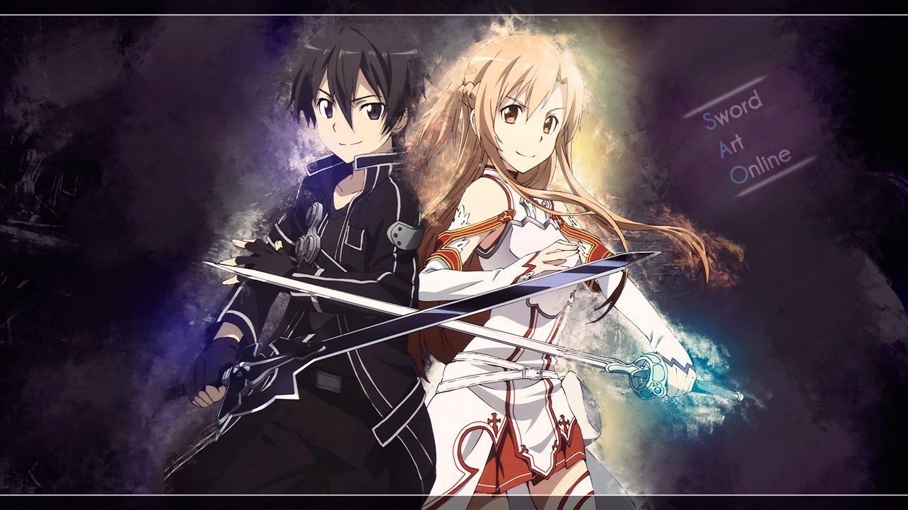 Foto Kirito Dan Asuna kirito and asuna sword art online hd wallpaper | desktop