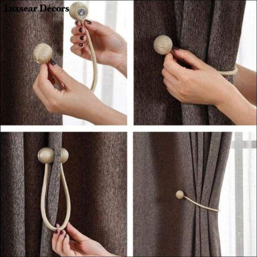 Magnetic Curtain Tie Backs Curtain Tie Backs Magnetic Curtain