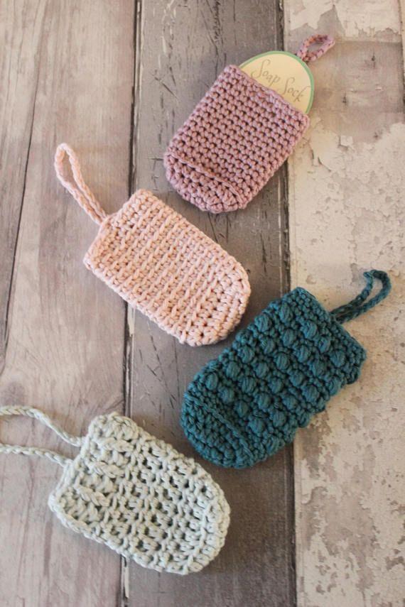Soap Saver Crochet Pattern Soap Sock Crochet Pattern Crochet Soap